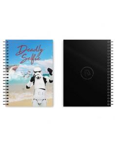 Cuaderno A5 Deadly Selfie Original Stormtrooper