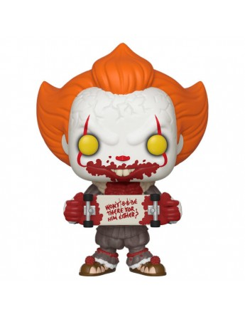 Figura POP IT Chapter 2 Pennywise with Skateboard