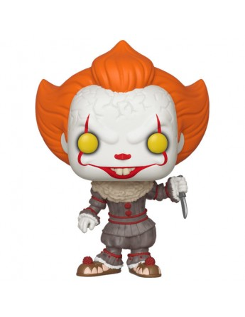 Figura POP IT Chapter 2 Pennywise with Blade