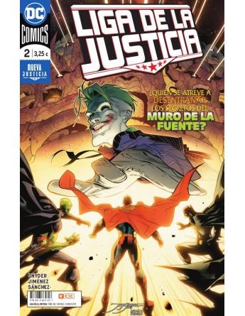 LIGA DE LA JUSTICIA Nº 02 / 80