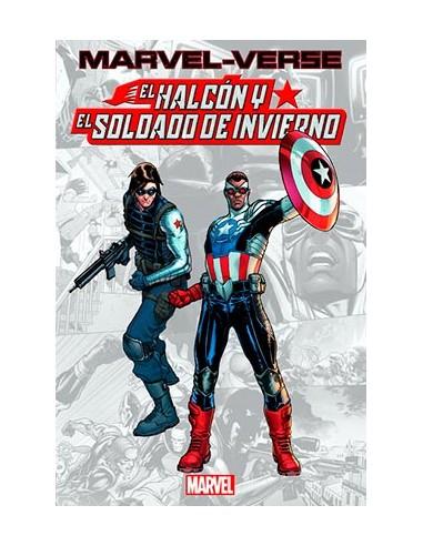 MARVEL-VERSE. EL HALCON Y EL SOLDADO...