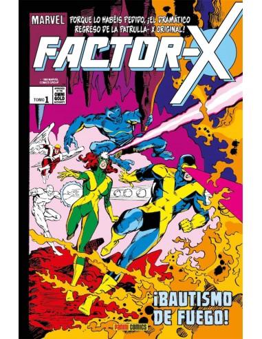 FACTOR-X 01. ¡BAUTISMO DE FUEGO!...