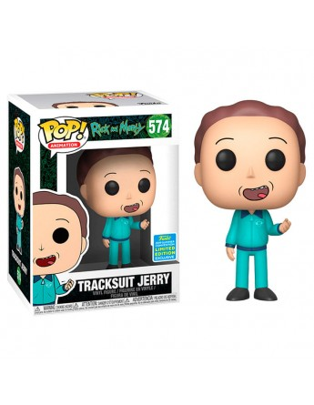Figura POP Rick Morty Tracksuit Jerry Exclusive SDCC