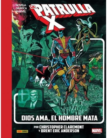 LA PATRULLA-X: DIOS AMA EL...