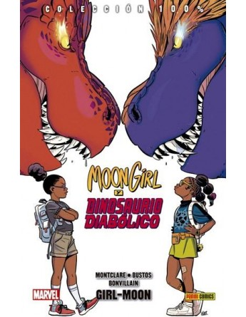 MOON GIRL Y DINOSAURIO...