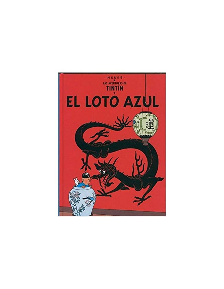 TINTIN 05. EL LOTO AZUL