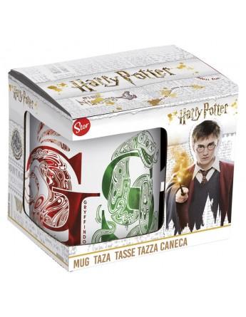 Taza ceramica Casas Harry Potter caja