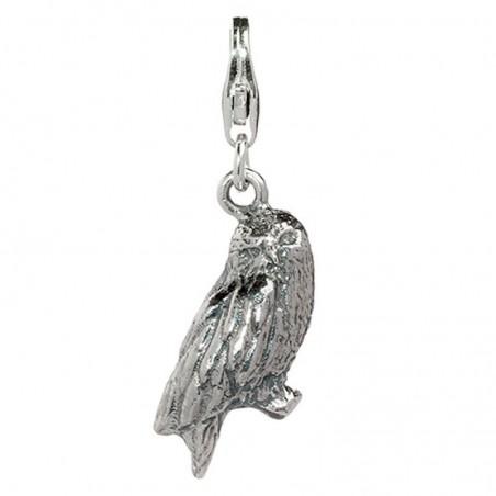 Colgante charm Hedwig Owl Harry Potter plata