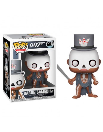 Figura POP James Bond Baron Samedi serie 2