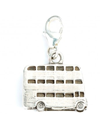 Colgante charm Knight Bus Harry Potter plata