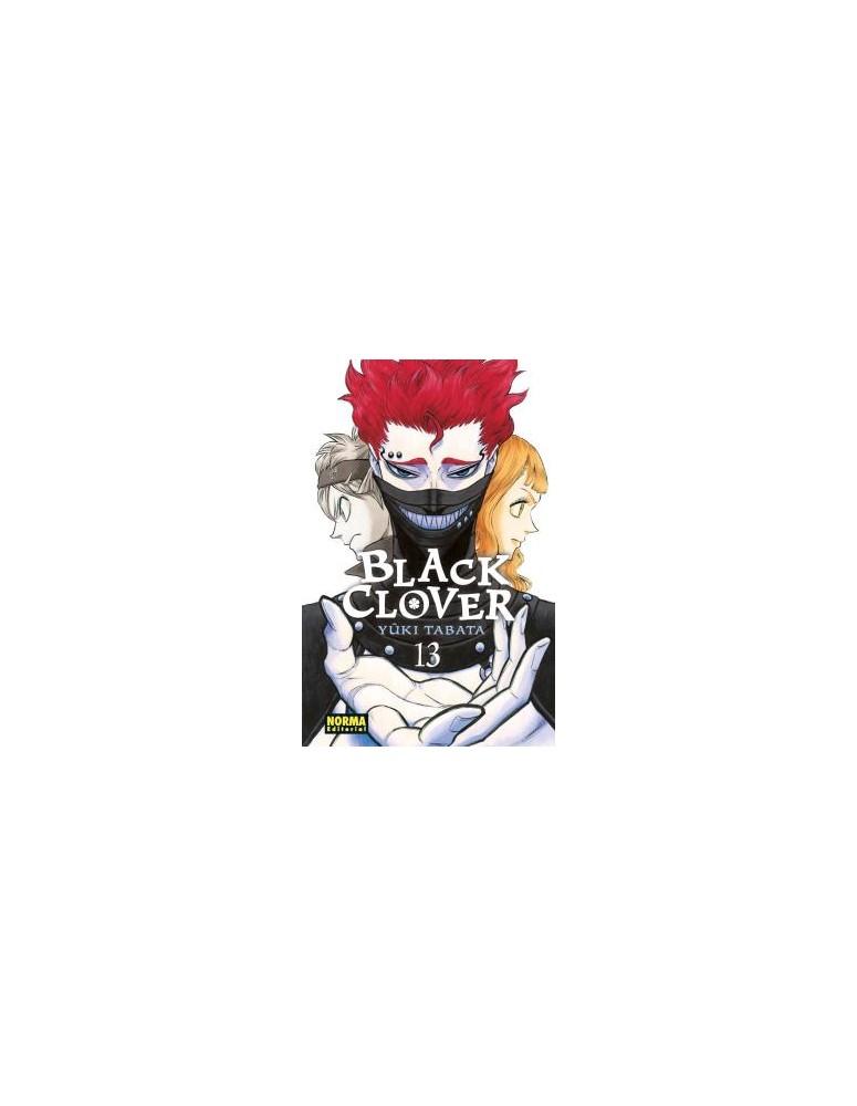 BLACK CLOVER Nº 13