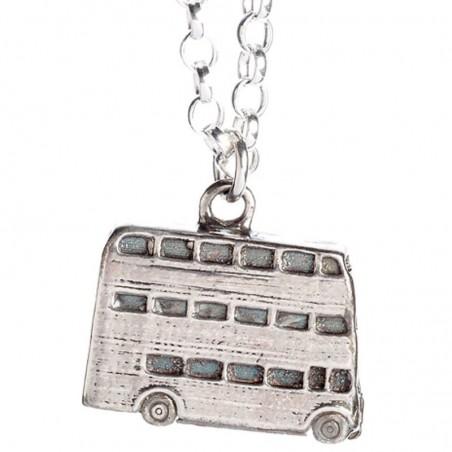 Colgante Knight Bus Harry Potter plata