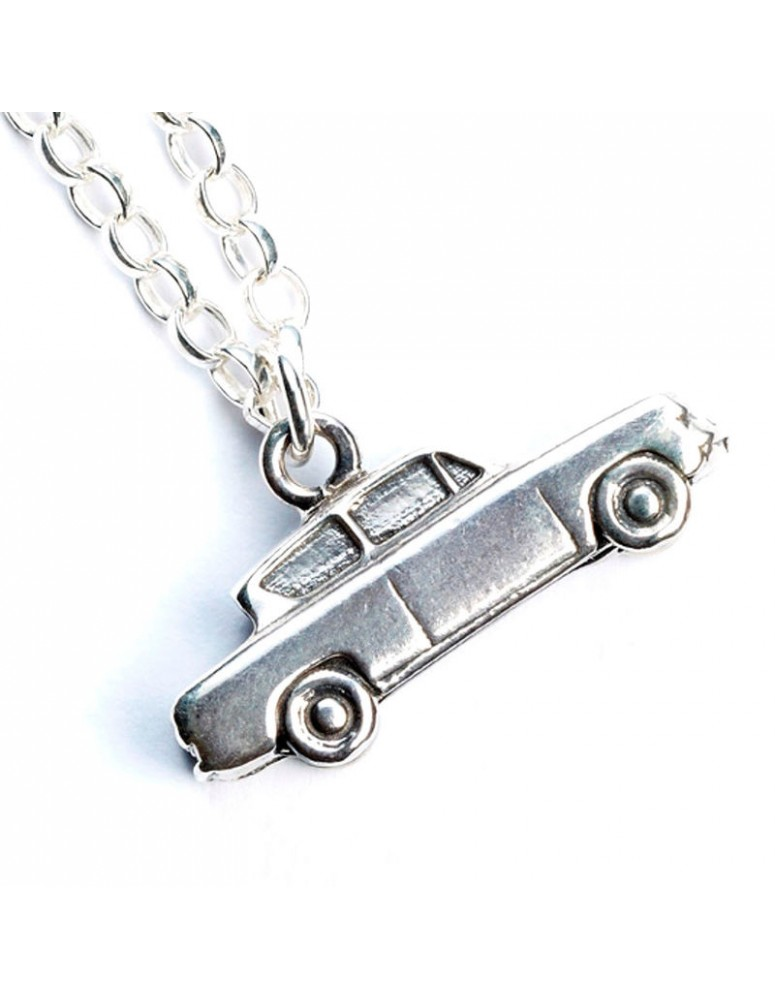Colgante Mr Weasleys Flying Car Harry Potter plata