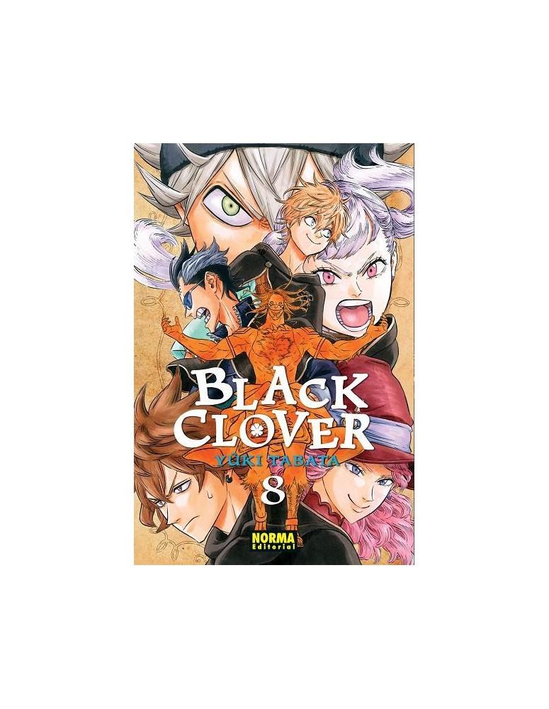BLACK CLOVER Nº 08