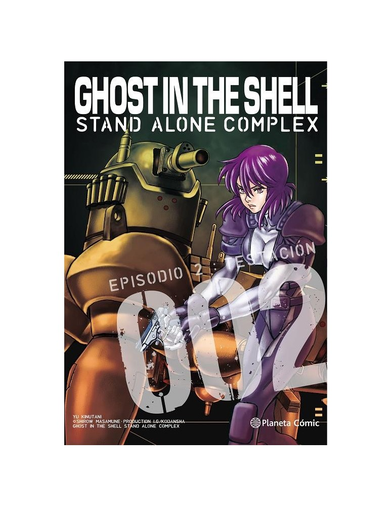GHOST IN THE SHELL STAND ALONE...