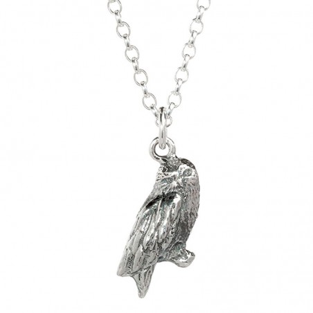 Colgante Hedwig Owl Harry Potter plata