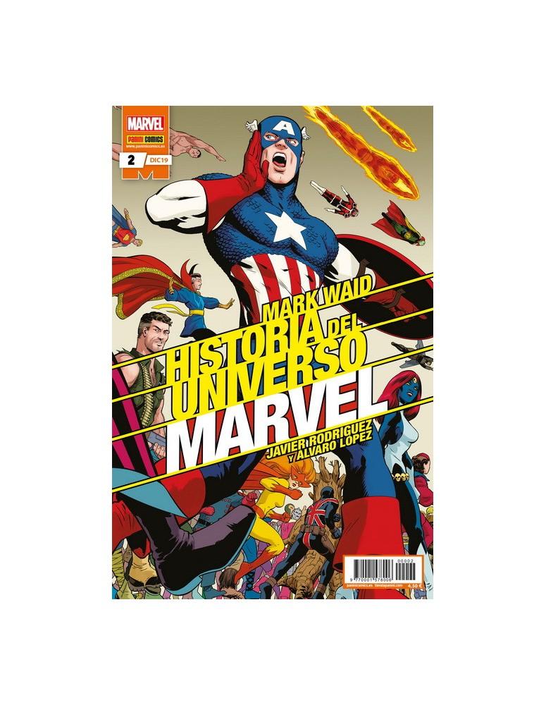 HISTORIA DEL UNIVERSO MARVEL Nº 02 -...