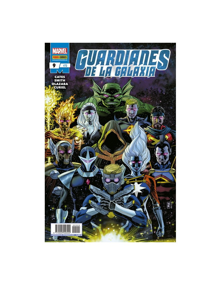 GUARDIANES DE LA GALAXIA Nº 09