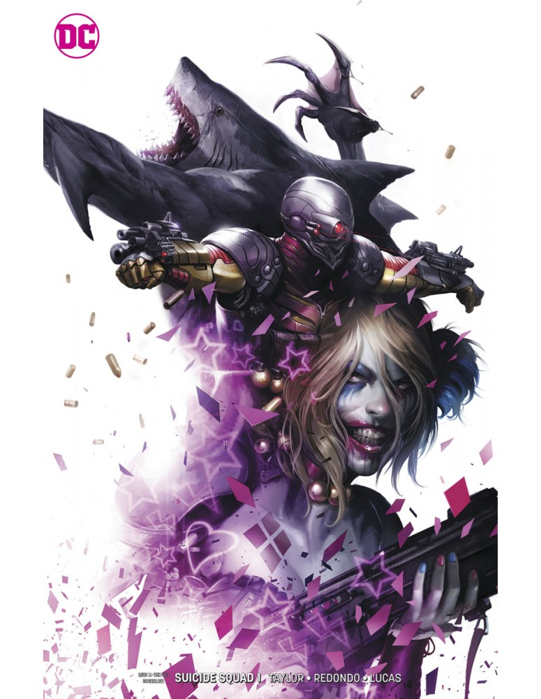 USA - DC SUICIDE SQUAD 01 CARD STOCK...