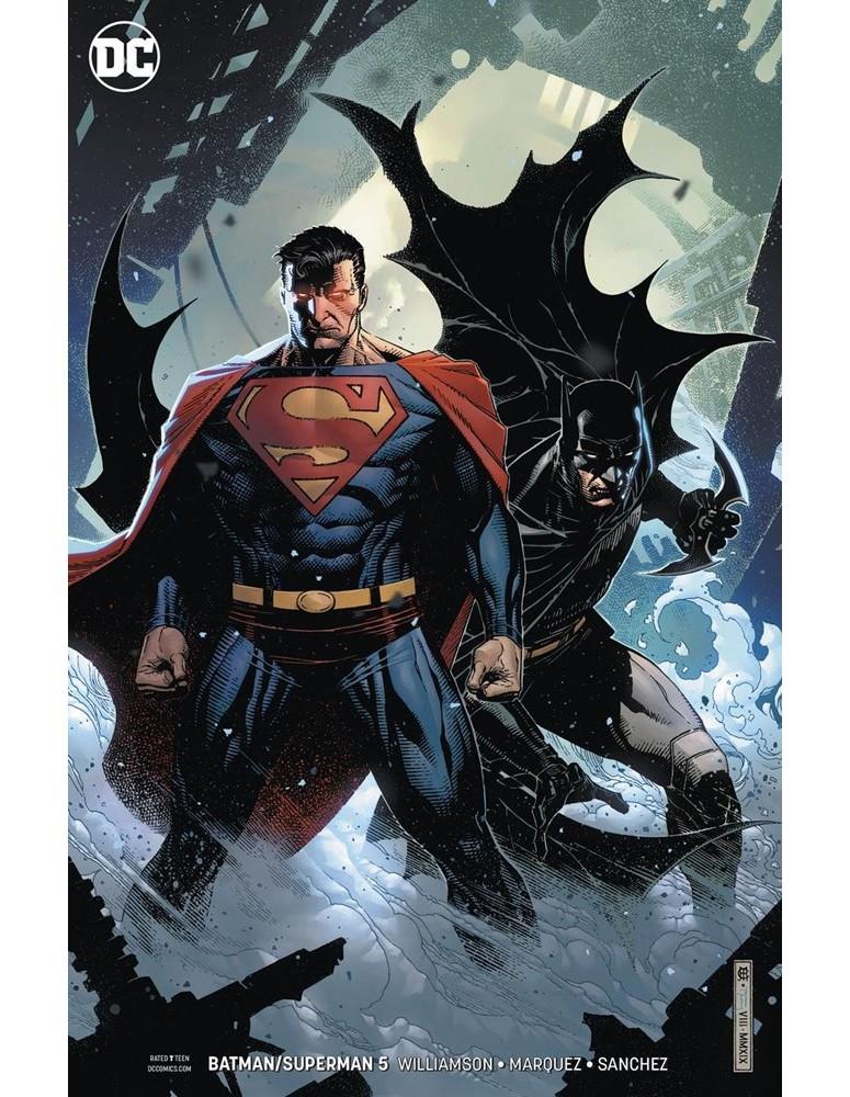 USA - BATMAN/SUPERMAN 05 CARD STOCK...