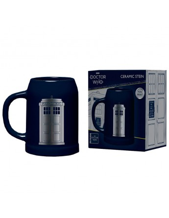 Jarra ceramica Doctor Who
