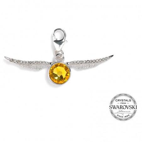 Colgante charm swarovski Golden Snitch Harry Potter