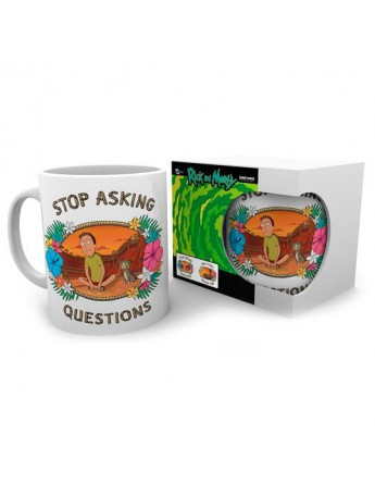 Taza Questions Rick and Morty