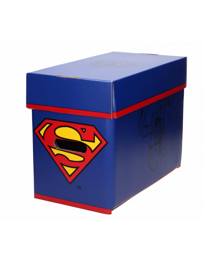 SUPERMAN CAJA CON TAPA