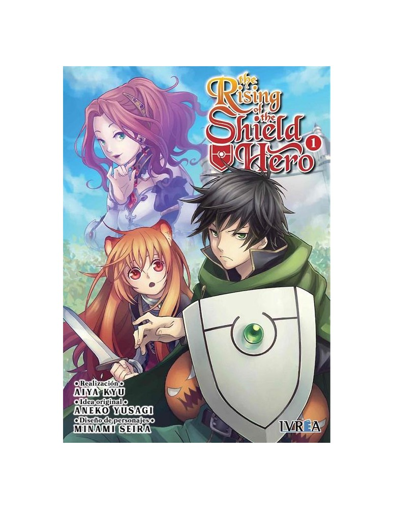THE RISING  OF THE SHIELD HERO Nº 01