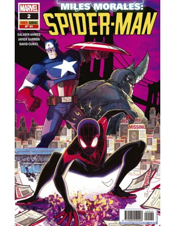 MILES MORALES: SPIDERMAN Nº 02