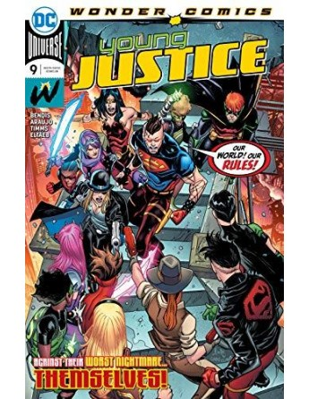 YOUNG JUSTICE Nº 09