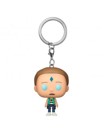 Llavero Pocket POP Rick Morty Armed Morty