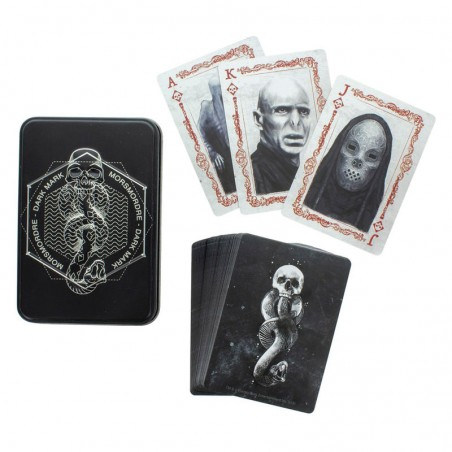 Baraja cartas Mortifagos Harry Potter