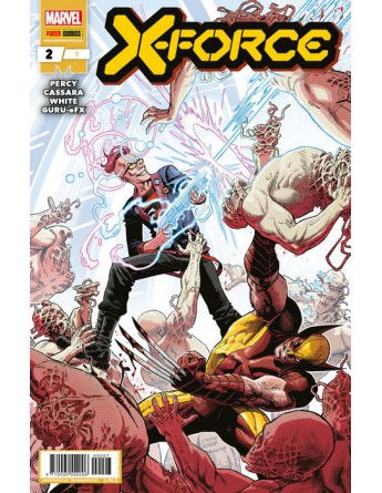 X FORCE Nº 02 / 07