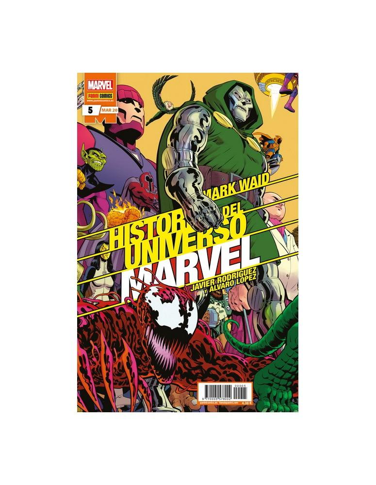 HISTORIA DEL UNIVERSO MARVEL Nº 05