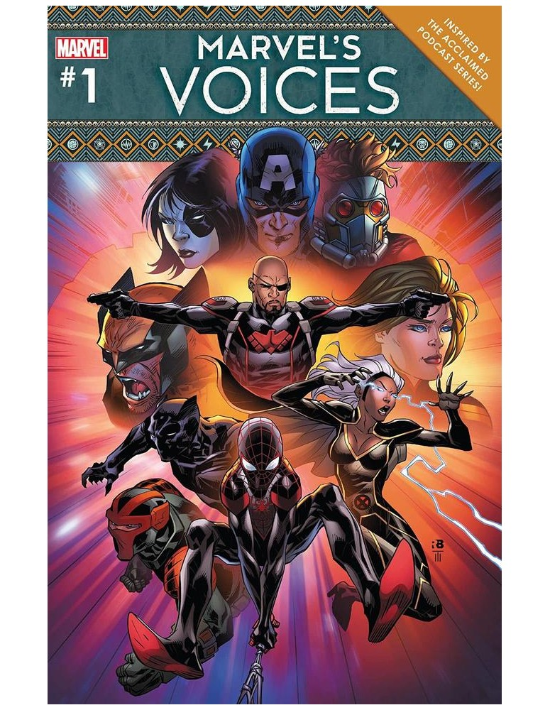USA - MARVELS VOICES 01