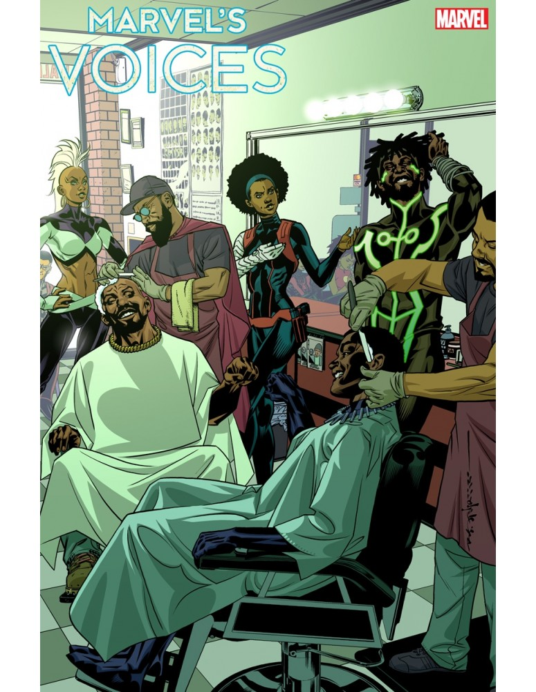 USA - MARVELS VOICES 01 VARIANT...