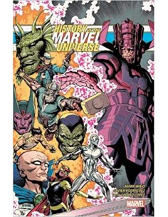 HISTORY OF MARVEL UNIVERSE...