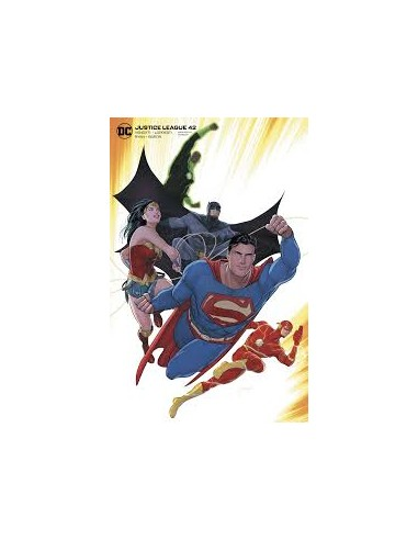 JUSTICE LEAGUE 42 CARD STOCK MIKEL...