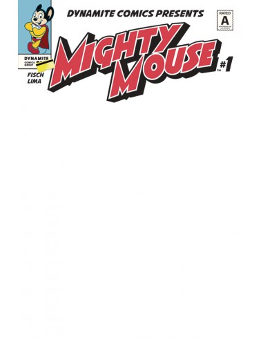 MIGHTY MOUSE 1 CVR K BLANK AUTHENTIX