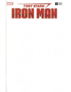 TONY STARK IRON MAN 1 BLANK...