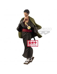 Figura Dracule Mihawk Treasure Cruise World Journey One Piece vol 3 20cm