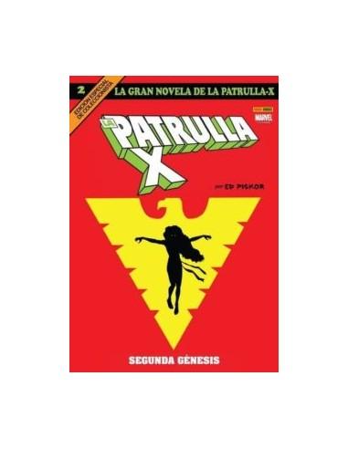 LA GRAN NOVELA DE LA PATRULLA X 02:...