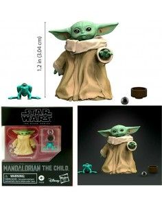 THE CHILD BABY YODA BLACK...
