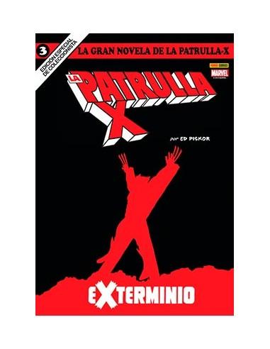 LA GRAN NOVELA DE LA PATRULLA-X 03....