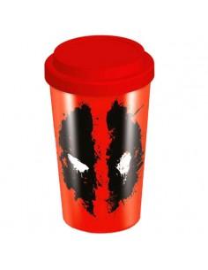 Taza viaje Deadpool Marvel
