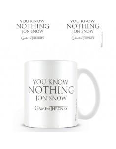 Taza You Know Nothing Jon Snow Juego de Tronos