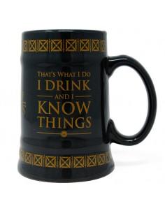 Jarra Drink 38 Know Things Juego de Tronos
