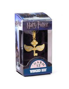 Colgante charm Llave Alada Harry Potter