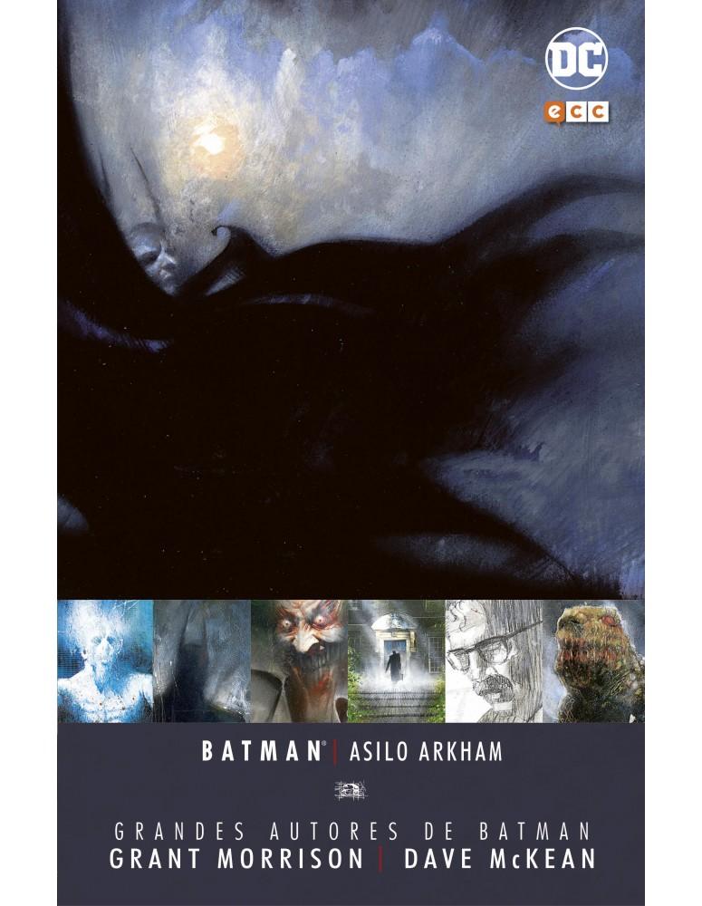 Grandes Autores Batman: Arkham Asylum